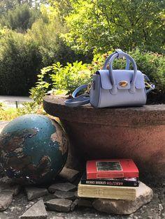 C'iel Comè blue Satchel Bag, Leather Satchel, Shoulder Strap, Handbags, Metal, Blue, Leather Pouch, Purses, Hand Bags