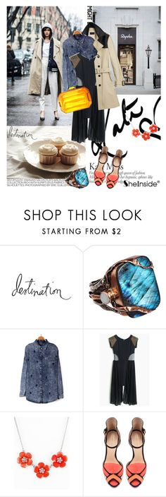 """sheinside 9!"" by yerina ❤ liked on Polyvore featuring Heidi Swapp, Sandra Dini, Behance, H&M and Zara"