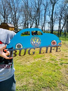 "Volkswagen Beetle ""Bug Life"" metal sign #VolkswagenBug #Beetle #VW #cars #Germancars #walldecor #automobiles #coolcars #automotive #mancave #carstuff #fathersday #dad #guy Vw Engine, Mike Jackson, Scrap Material, Beetle Bug, Vw Cars, To Color, Metal Signs, Metal Art, Photo Wall Art"