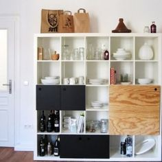 15 brilliant storage IKEA hack ideas. #dwellinggawker