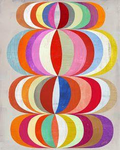 inspiration - geometric pattern love