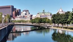 Montreal's Vieux Port (Old Port).