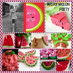 Love the watermelon theme. Maybe for Ellie's 1st birthday?