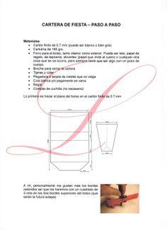 SEXTO CAL: BOLSO-CARTERA DE FIESTA (pág. 2)   Aprender manualidades es facilisimo.com