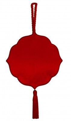 Lanvin 1970s red tassel evening bag £890