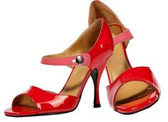 Marc Jacobs Red Pink Patent Leather Sandals - http://womenspin.com/shoes/marc-jacobs-red-pink-patent-leather-sandals/