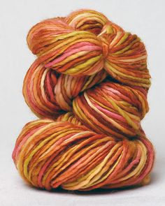 Manos Del Uruguay  Handspun Multi colors/Fruit Salad 124  Craftspeople working together in Uruguay create this gorgeous, handcrafted, kettle dyed yarn which sustains their community.