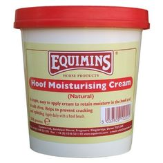 Equimins Horse Care Hoof Moisturising Cream 500G Tub by Equimins. $10.21. Equimins are one of the UK's leading suppliers of horse supplement and horse care products. Made using only high quality ingredients, they are carefully balanced to ensure the optimum benefit for your horse and his health. Equimins Hoof Moisturising Cream is a simple, easy to apply cream which helps to retain moisture in your horses hooves. Daily use will promote natural shine, and also ...