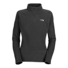 The North Face Women's Shirts & Sweaters Fleece WOMEN'S TKA 100 MICROVELOUR GLACIER 1/4 ZIP