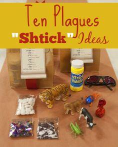 Ten Plagues Shtick Ideas Creative & Frugal Ten Plagues Shtick Ideas for Your Passover Seder