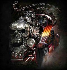 Skeleton Hot Rod Classic