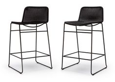 Hk Living Bar Stool Rotan Chair Honey Furniture