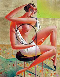 Georgy Kurasov «A Girl On A Chair»