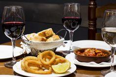 Food Tours Valencia - Tapas Valencia, Red Wine, Tapas, Alcoholic Drinks, Food, Essen, Liquor Drinks, Meals, Alcoholic Beverages