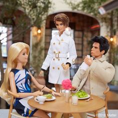 """""""Valentina has arrived! Interpol doesn't do many leisurely lunches, but we'll make an exception for @aocla. #barbiezoolander #zoolander2 #barbie…"""""""