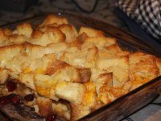 Cinnamon Apple Casserole - vegetarian breakfast idea for Christmas morning