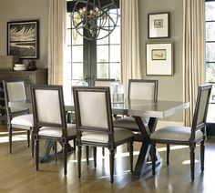 Great Rooms - Berkeley 7 Piece Dining Set by Universal