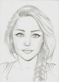 Image Result For One Eyebrow Up One Eyebrow Down Girl How To Draw Easy Portrait Drawing Simple Face Drawing Girl Face Drawing