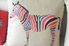 cotton linen Fabrics animals Lumbar pillow shade by ILovePillow