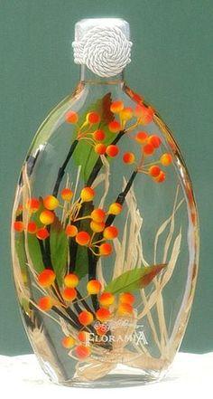 Aprende cómo hacer botellas decorativas con flores