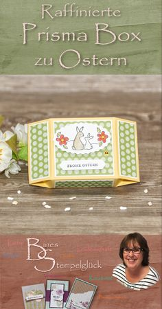 Box Template Maker, Stampin Up Ostern, Bag Toppers, Punch Board, Treat Holder, Stamping Up, Diy And Crafts, Goodies, Projects To Try