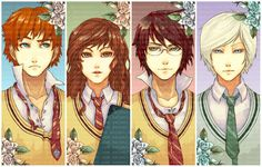 Anime Harry Potter.... everything everything!!! looks better in anime