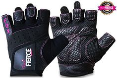 Womens Weightlifting Gloves plus FREE Padded Figure 8 Lifting Straps for Powerlifting-Gym-Crossfit-Weight Training-Biking-Cycling-Best for Comfort-Grip and Callus Protection-WashableFREE Fox Fierce Fitness Workout for Women Ebook - http://www.exercisejoy.com/womens-weightlifting-gloves-plus-free-padded-figure-8-lifting-straps-for-powerlifting-gym-crossfit-weight-training-biking-cycling-best-for-comfort-grip-and-callus-protection-washablefree-fox-fierce-2/fitness/