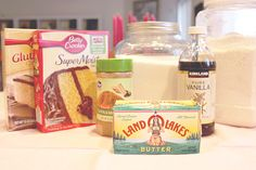 "How to ""doctor up"" boxed cake mixes."