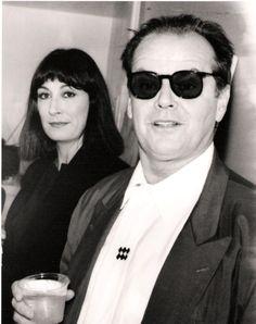 Angelica Houston y Jack Nicholson