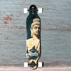 "Longboards USA - Kicktail Chakra Buddha Longboard Stella 40"" Complete, $189.00 (http://longboardsusa.com/longboards/freeride-longboards-riding-style/kicktail-chakra-buddha-longboard-stella-40-complete/)"