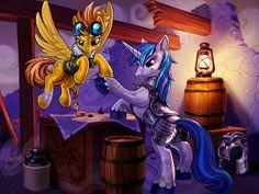 Future Captains of Equestria by harwicks-art on DeviantArt