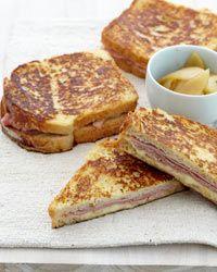 Ham and Gruyere French Toast Sandwiches | Food & Wine