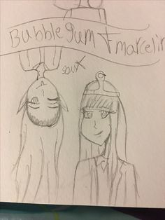 Princess bubblegum and Marceline for art by: Princess Bubblegum, Marceline, Bubble Gum, Bubbles, Art, Craft Art, Kunst, Gcse Art, Chewing Gum