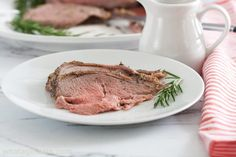 Leg of Lamb with Fresh Mint Sauce is roasted with rosemary and studded with garlic. It's the perfect Easter meal or Sunday supper recipe. The recipe's here! Boneless Leg Of Lamb, Mint Sauce, Sunday Suppers, Supper Recipes, Fresh Mint, Easter Recipes, Steak, Roast, Pork