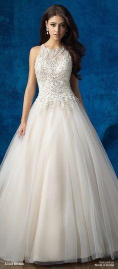 Allure Bridals Fall 2016 Wedding Dress