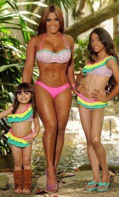 Girl Ruffle Bikini Set – Maripily Swimwear Girls' Bikini Set