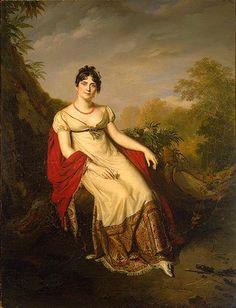 Joséphine à la Malmaison, Firmin Massot, 1812