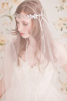 Romantic Headpieces & Accessories By Enchanted Atelier | Bridal Musings