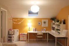 The Busy Budgeting Mama: My Little Corner of the Playroom - Office Reveal