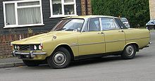 Rover 2000 -my 1st car. Mine was blue with wood trim inside:)