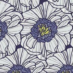 「花 パターン 青」の画像検索結果