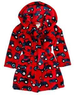 This super soft Hatley robe is the perfect way to warm up on a chilly morning!