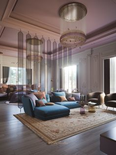a Littel Dream on Behance Dream Home Design, Home Interior Design, House Design, Dream Rooms, Dream Bedroom, Design Hall, Luxury Homes Dream Houses, Luxurious Bedrooms, House Rooms