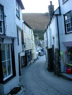 Port Isaac in North Cornwall, England,  U.K -Place where doc martin was filmed