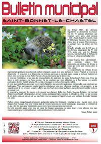 Bulletin municipal, communication, réseaux sociaux - Saint-Bonnet-le-Chastel