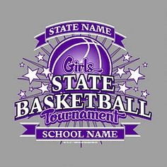 State Champions Basketball T Shirt Design High School