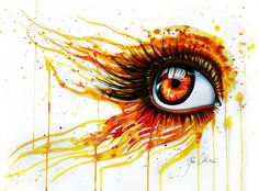 On fire by =PixieCold on deviantART