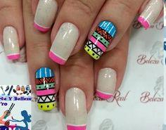 Nail Designs, Nails, Nail Ideas, Work Nails, Lace Nails, Sculpted Nails, Red Nail, Nails With Stripes, Brittle Nails