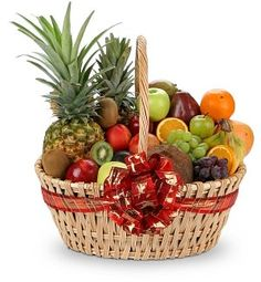 Fruit Baskets Are Great Gifts for anyone, but especially the cook!