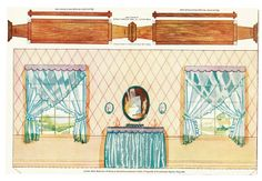 The Paper Collector: Armstrong Quaker Girl Paper Doll Rooms